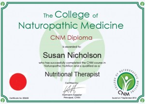 Qualified Nutritional Therapist